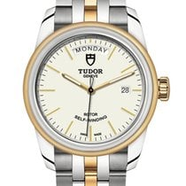 Tudor Glamour Date-Day Gold/Steel 39mm White