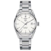 TAG Heuer Carrera Calibre 5 Steel 39mm Champagne