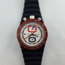 Tissot Plastic Manual winding White 39mm pre-owned