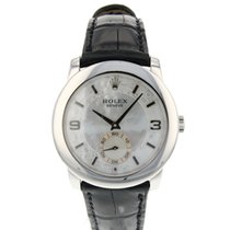 Rolex Platinum Automatic Mother of pearl Arabic numerals 35mm pre-owned Cellini