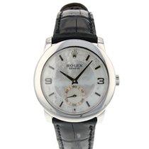 Rolex Cellini Platinum 35mm Mother of pearl Arabic numerals