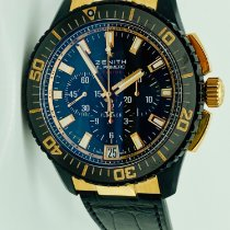 Zenith El Primero Stratos Flyback Rose gold Black United States of America, New York, NEW YORK