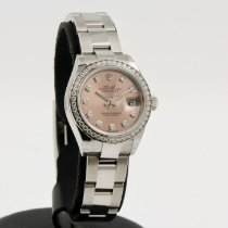 Rolex Lady-Datejust Steel 28mm Pink No numerals