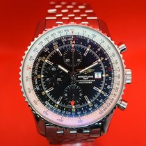 Breitling Navitimer World Steel 46mm Black No numerals United States of America, Washington, Seattle