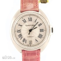 Cartier NEW -45% Clé de Cartier WJCL0014 Whitegold Diamonds 35 mm