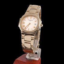 Patek Philippe nautilus yellow gold lady quartz