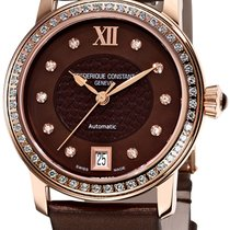 Frederique Constant Ladies Automatic 38.5mm Brown United States of America, New York, Brooklyn