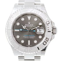 Rolex Yacht Master White Gold And Steel Gray Automatic 116622GY