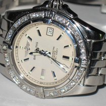 Breitling Galactic 30 pre-owned 30mm Silver Date Steel