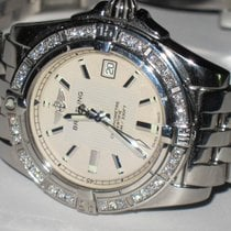 Breitling Galactic 30 Steel 30mm Silver No numerals United States of America, New York, NEW YORK CITY