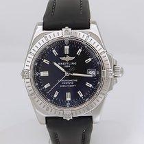 Breitling Callisto Swiss Stainless Steel Chronometer Black...