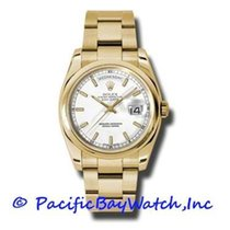 Rolex Day-Date 36 Yellow gold 36mm White