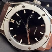 恒寶 (Hublot) Classic Fusion Titanium 42mm Automatic  Mens Watch...
