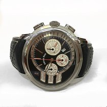 Audemars Piguet Millenary Chronograph Steel 47mm Black No numerals