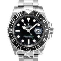 勞力士 GMT-Master II Black/Steel Ø40mm - 116710LN