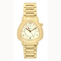 DeLaneau Starmaster Dual Time Womens Automatic Watch 18k...
