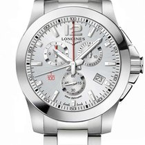 Longines Conquest Steel 44mm Silver United States of America, New York, Airmont