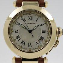 Cartier Pasha Geelgoud 38mm Zilver Romeins Nederland, Nijmegen  (www.horloge-sieraden.nl)