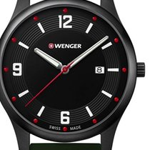 Wenger 01.1441.125 City Active Herren 43mm 10ATM