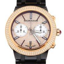 Mauboussin Montre Life for Ever, Or Rose 18k, Pavage de diamants