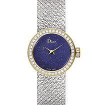 Dior Gold/Steel 19mm Quartz CD040120M002 new UAE, Dubai