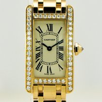 Cartier Tank Américaine new Quartz Watch with original box and original papers 2482