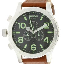 Nixon Leather Mens Watch