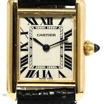 Cartier Tank Louis Cartier gebraucht Gelbgold