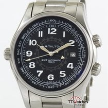 Hamilton Khaki Navy UTC Steel 43mm Black