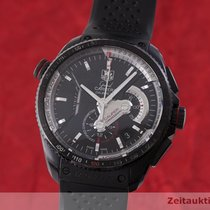 TAG Heuer Grand Carrera Titanium 43.5mm Black
