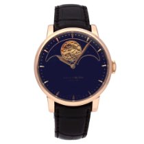 Arnold & Son HM Perpetual Moon Rose gold 42mm Blue No numerals United States of America, New York, NYC