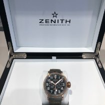 Zenith Pilot Type 20 Extra Special Bronze 45mm Schwarz Arabisch
