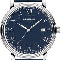 Montblanc Tradition Steel 40mm Roman numerals