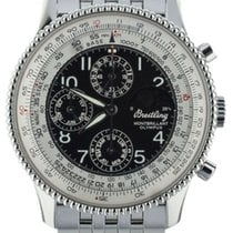 Breitling Montbrillant Olympus Steel 42mm Black