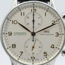 IWC Portuguese Chronograph IW3714 Nagyon jó Acél 41mm Automata