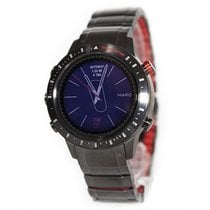 Garmin Titanium Quartz Red No numerals 46mm new