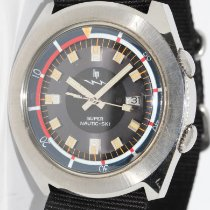 Lip Steel Automatic 42mm pre-owned Nautic Ski