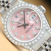 Rolex Lady-Datejust Сталь 26mm Розовый