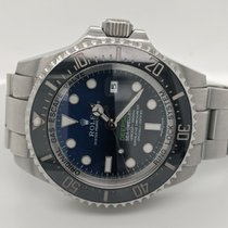Rolex Sea-Dweller Deepsea Steel 44mm Blue No numerals United States of America, Connecticut, Stamford
