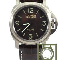 Panerai Luminor 8 days Titanium 44mm brown dial pam562 NEW