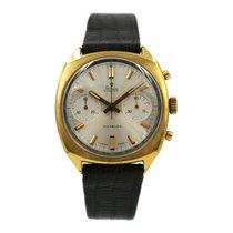 Stowa Vintage Chronograph | Landeron 248 | Double Gold rare
