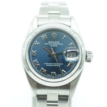 Rolex Oyster Perpetual Date 26mm Blue Dial Roman Numeral
