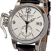 Graham new Automatic Display Back 42mm Steel Sapphire crystal
