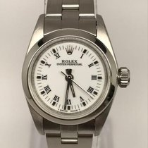Rolex Oyster Perpetual Lady White Roman Dial