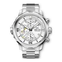 IWC Aquatimer Chronograph nou 2017 Atomat Cronograf Ceas cu cutie originală și documente originale IW376802