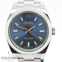 勞力士 (Rolex) Milgauss Blue 2015