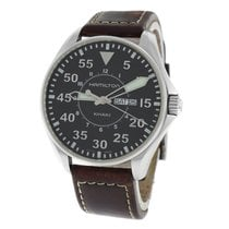 Hamilton Authentic Men's  Khaki Aviation Pilot H646110 Quartz