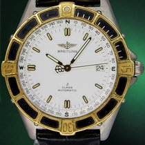 Breitling J Class 40mm Automatic Date Gold Steel
