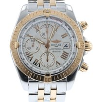 Breitling Chronomat Evolution C13356 Watch with 18k Rose Gold,...