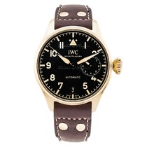 IWC Big Pilot Bronce 46.2mm Negro